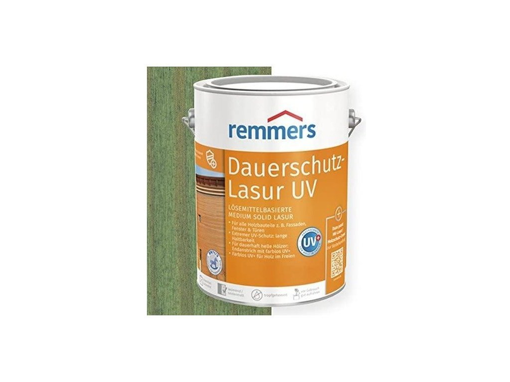 Dauerschutz Lasur UV (Dříve Langzeit Lasur) 5L tannengrün- jedlově zelená 2254  + dárek dle vlastního výběru k objednávce
