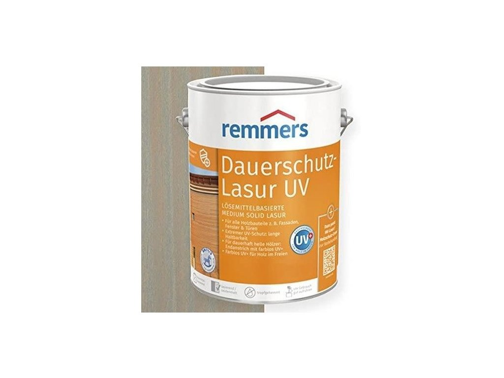 Dauerschutz Lasur UV (Dříve Langzeit Lasur) 5L silbergrau-stříbrná šedá 2257  + dárek dle vlastního výběru k objednávce