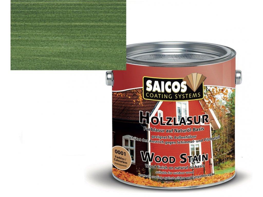 Saicos olejová lazura venkovní jablková zeleň 0060 (Velikost balení 2,5 l)