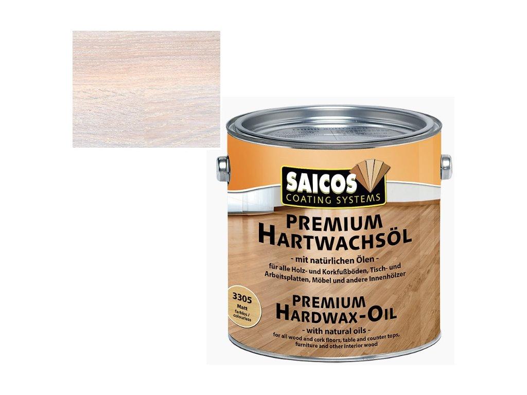 Saicos tvrdý voskový olej Premium BÍLÁ TRANSPARENTNÍ 3100 (Velikost balení 25 l)