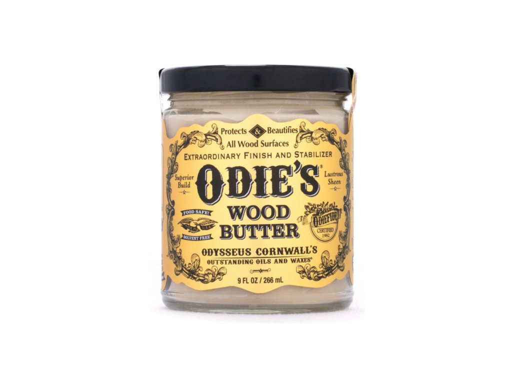 Odie's Oil wood butter
