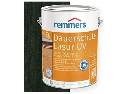 Dauerschutz Lasur UV (Dříve Langzeit Lasur) 2,5L ebenholz-ebenové dřevo 2252