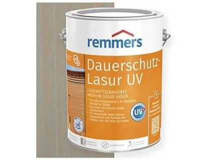 Remmers Dauerschutz Lasur UV (Dříve Langzeit Lasur) 2,5L silbergrau-stříbrná šedá 2257