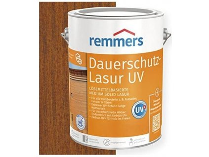 Remmers Dauerschutz Lasur UV (Dříve Langzeit Lasur) 20L Ořech - Walnut - Nussbaum - Orzech 2260  + dárek v hodnotě až 200 Kč zdarma k objednávce