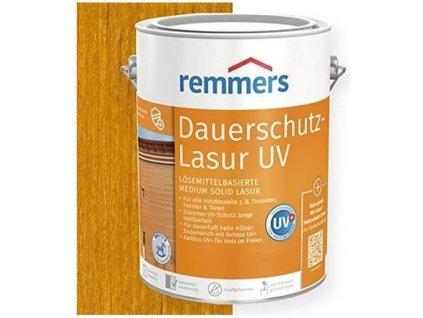 Remmers Dauerschutz Lasur UV (Dříve Langzeit Lasur) 20L eiche rustikal-rustikální dub 2263  + dárek v hodnotě až 200 Kč zdarma k objednávce