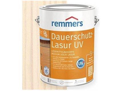 Remmers Dauerschutz Lasur UV (Dříve Langzeit Lasur) 20L weiss-bílá 2268  + dárek v hodnotě až 200 Kč zdarma k objednávce