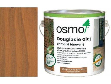 TERASOVÉ OLEJE 004 Douglaska olej přírodně tónovaný 2,5 l