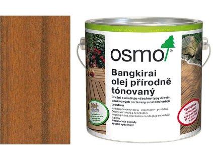 TERASOVÉ OLEJE 006 Bangkirai olej přírodně tónovaný 2,5 l
