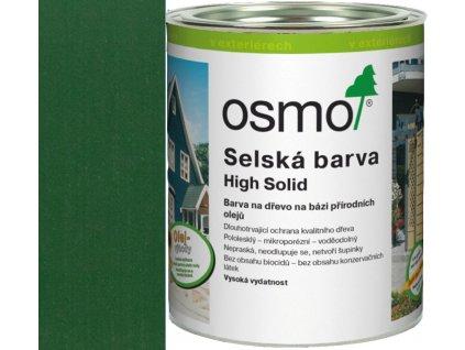 Osmo SELSKÁ BARVA 0,75L 2404 jedlově zelená