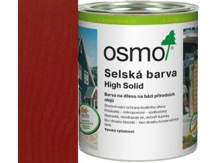 Osmo SELSKÁ BARVA 2,5L 2308 nordicky červená  + dárek v hodnotě až 250 Kč k objednávce