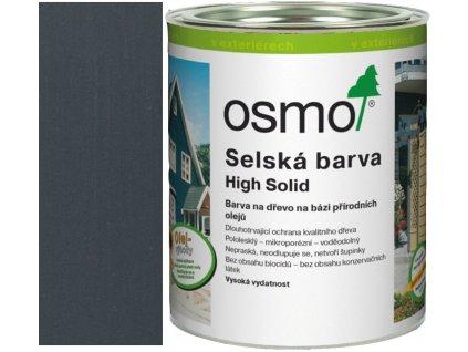 Osmo selská barva 2,5L antracitově šedá 2716  + dárek v hodnotě až 250 Kč k objednávce