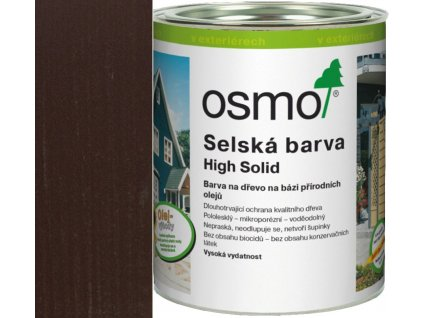 Osmo SELSKÁ BARVA 2,5L 2607 tmavě hnědá  + dárek v hodnotě až 250 Kč k objednávce