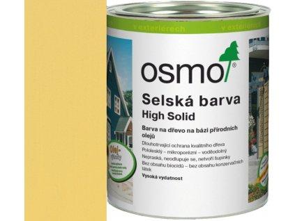 Osmo SELSKÁ BARVA 25L 2205 slunečně žlutá  + dárek v hodnotě až 1000 Kč k objednávce