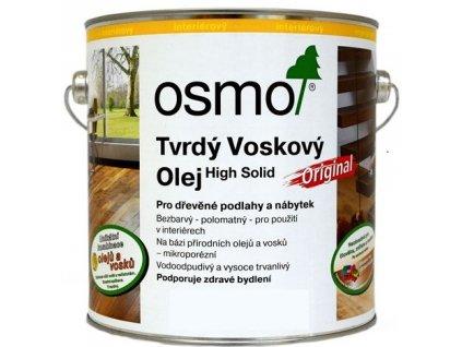 Osmo Tvrdý voskový olej protiskluzový 0,75L 3088 bezbarvý  + dárek v hodnotě až 250 Kč k objednávce