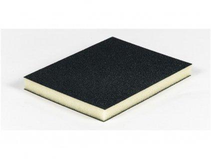 Brusná poduška 125 x 100 x 12,5 mm, na suché i mokré broušení, zr. 220 jemná