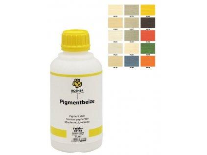 Rosner Pigmentbeize mořidlo 10 L (pro listnaté i jehličnaté dřeviny) (barevní odstín PIGMENTBEIZE 88490)