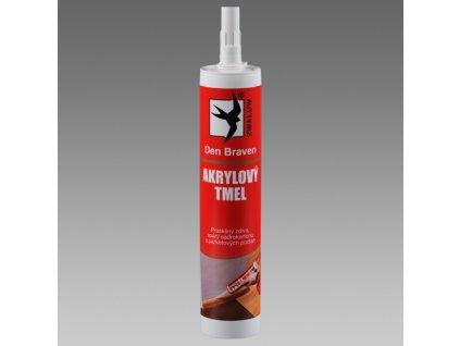 Akrylový tmel  310ml (Velikost a barva tmelu 310 ml  černý)