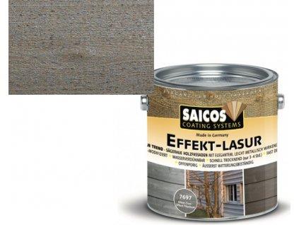 Saicos lazura s kovovým efektem odstín 7696 STŘÍBRNÝ EFEKT (Velikost balení 2,5 l)