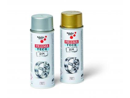 Sprej na ráfky PRISMA TECH RIM stříbrná, 400 ml (Objednat 18ks)