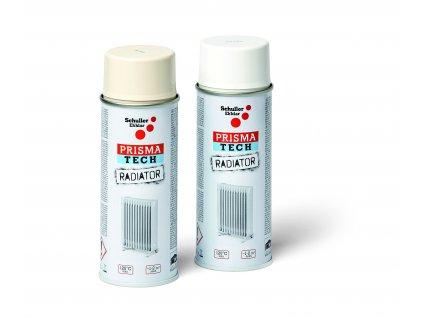 Sprej na topná tělesa PRISMA TECH RADIATOR RAL 9010 bílá, 400 ml (Objednat 18ks)