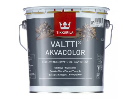 Tikkurila Valtti AKVACOLOR - 9l vzorník TVT (Vzorník TVT 5089 (Piki))