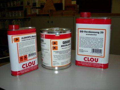 Clou CLOUCRYL RAL 9001 DECKLACK ( Krycí lak, krémová bílá)