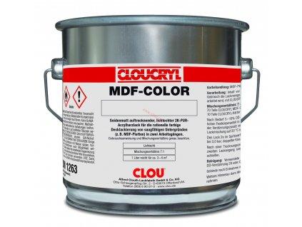 Clou CLOUCRYL MDF- color RAL 9016 ( Krycí lak dopravní bílá)