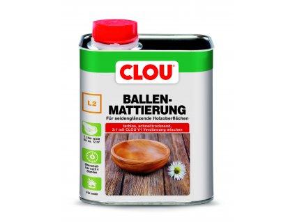 Clou L2 BALLEN- MATTIERUNG FARBLOS (Šelakový matýrung)