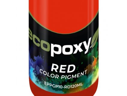 120mL Red Color Pigment