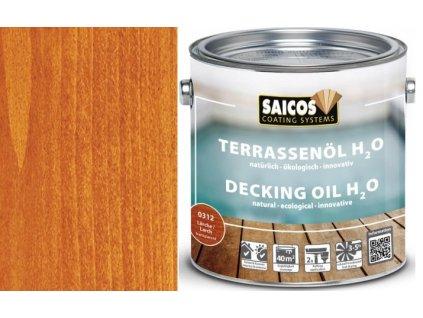 Saicos- TERRASENÖL H2O (Terasový olej na vodní bázi transparentní) 0312 - modřín - larche