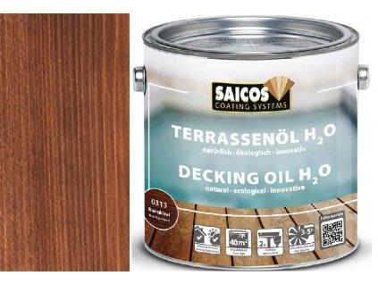 Saicos- TERRASENÖL H2O (Terasový olej na vodní bázi transparentní) 0313 - bangirai