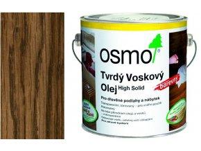 Osmo tvrdý voskový olej BAREVNÝ 2,5l Hnědá zem 3073  + dárek v hodnotě až 200 Kč zdarma