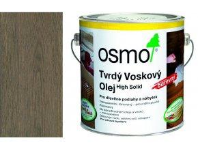 Osmo tvrdý voskový olej BAREVNÝ 2,5l Grafit 3074  + dárek v hodnotě až 200 Kč zdarma