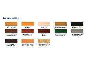 Langzeit Lasur UV 20L ebenholz-ebenové dřevo  + dárek v hodnotě až 200 Kč zdarma