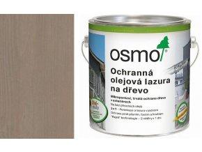 Osmo Ochranná olej. lazura EFEKT 2,5l stříbrná grafit 1142  + dárek v hodnotě až 200 Kč k objednávce