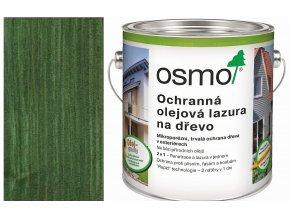 Osmo Ochranná olejová lazura 2,5l jedlově zelená 729  + dárek v hodnotě až 200 Kč k objednávce