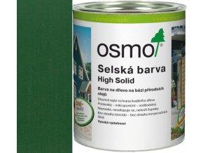 Osmo selská barva 25l jedlově zelená 2404  + dárek v hodnotě až 1000 Kč k objednávce