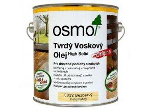 Osmo 3032 Original tvrdý voskový olej polomat 2,5l  + dárek v hodnotě až 200 Kč + při odběru více než 2ks SLEVA 10%