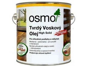Osmo tvrdý voskový olej protiskluzový 10l BEZBARVÁ 3088  + dárek v hodnotě až 200 Kč k objednávce