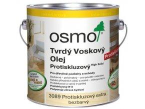 Osmo tvrdý voskový olej SILNĚ protiskluzový 2,5l BEZBARVÁ 3089  + dárek v hodnotě až 200 Kč k objednávce