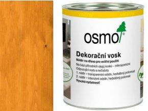 Osmo dekorační vosk transparentní 0,75l SVĚTLÝ DUB 3103