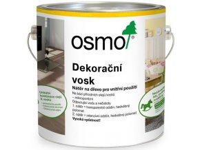 Osmo dekorační vosk transparentní 2,5l BEZBARVÁ 3101  + dárek v hodnotě až 200 Kč zdarma
