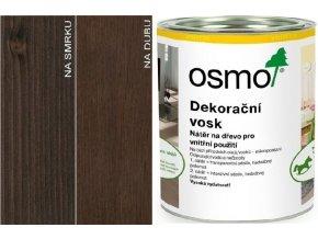 Osmo dekorační vosk transparentní 0,75l Ebenové dřevo 3161