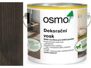 Osmo dekorační vosk intenzivní odstíny 2,5l Černá 3169  + dárek v hodnotě až 200 Kč zdarma