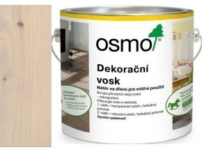 Osmo dekorační vosk intenzivní odstíny 2,5l Křemen 3181  + dárek v hodnotě až 200 Kč zdarma