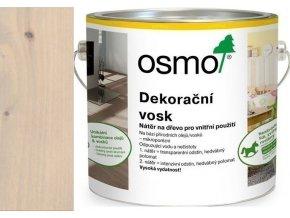 Osmo dekorační vosk intenzivní odstíny 2,5l Křemen 3181  + dárek v hodnotě až 200 Kč k objednávce