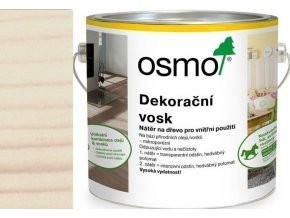 Osmo dekorační vosk intenzivní odstíny 2,5l Bílá matná 3186  + dárek v hodnotě až 200 Kč zdarma