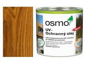 Osmo UV ochranný olej 25l dub polomatný s ochranou nátěru 425  + dárek v hodnotě až 1000 Kč zdarma