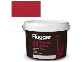 Flügger Wood Tex Aqua 04 Opaque (dříve 98 Aqua) - lazurovací lak - 3l odstín RAL 3001  + dárek dle vlastního výběru k objednávce