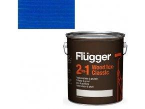 Flügger Wood Tex Classic 2v1 (dříve Flügger 2v1 Classic) - lazurovací lak- 0,75L -odstín U-497